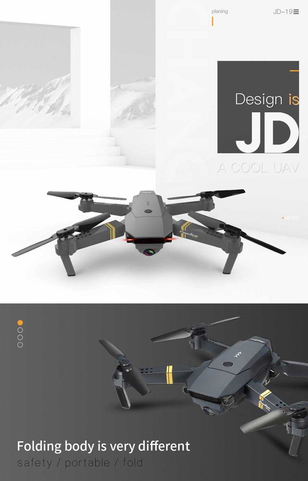 Hot Sale Jdtoys Jd 19 E58 Jy019 Quadcpter 2 4g Rc Pocket