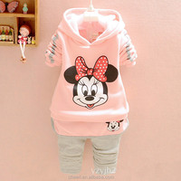 HH-CCS Cotton Sequins Children Boutique Clothing Kids Clothes Baby Girl Fall Set Hot Sale Newborn Baby Girl Clothes