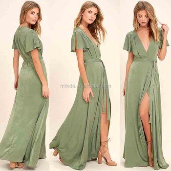 Wholesale Custom Casual Style Plus Size Women Fashion Short Sleeve Chiffon  Kaftan Arabic Maxi Dress - Buy Chiffon Maxi Dresses,Kaftan Maxi ...