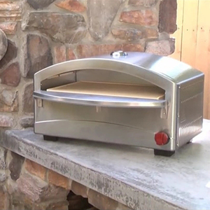Outdoor Portable Gas Fired Small Pizza Oven