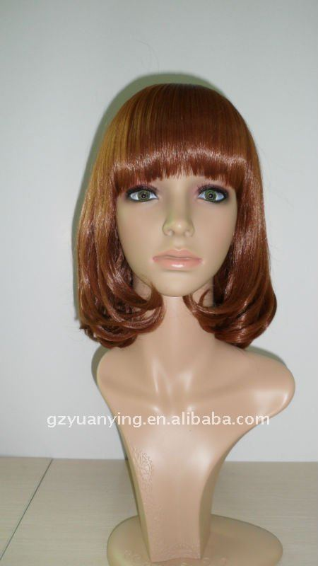 15 inch BOBO style synthetic fiber korean wig G3700