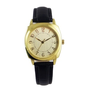 Latest Cheap Custom Your Design Automatic Leather Watch Gold Face Smart Watch for Unisex