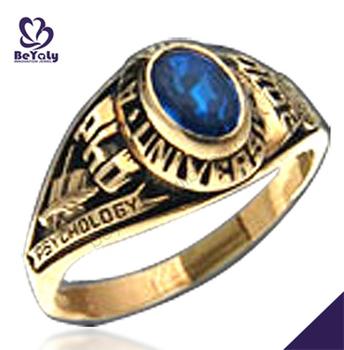 University Graduation Custom Unique Cheap Class Ring - Buy