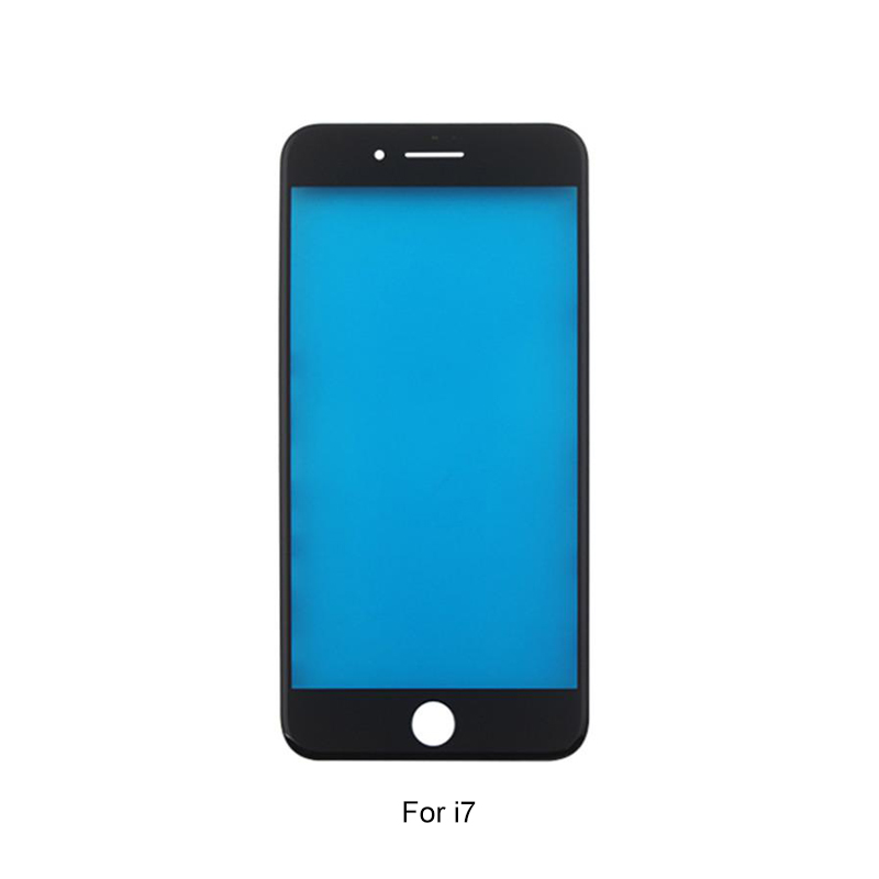 Formike Front Glass With Frame And OCA For Iphone 7