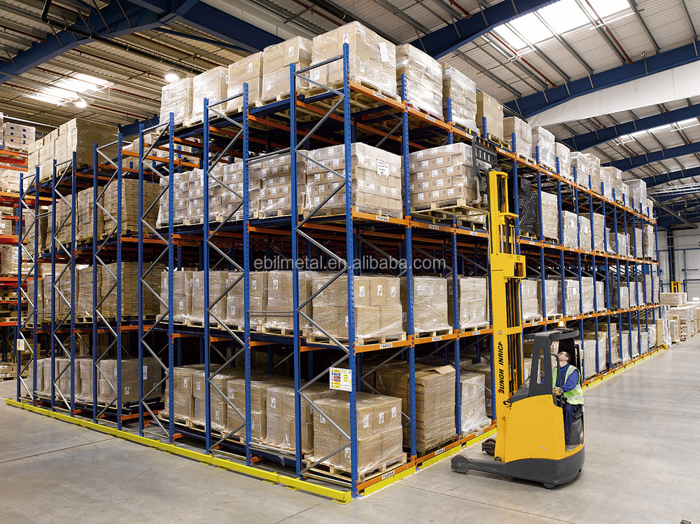 What is a Pallet Rack? Pallet rack systems provide high-capacity warehouse storage for products with high weight capacities. There are many types of pallet racking systems that can fit many inventory and material handling systems, including push back, drive in/ drive thru, carton flow, and more.
