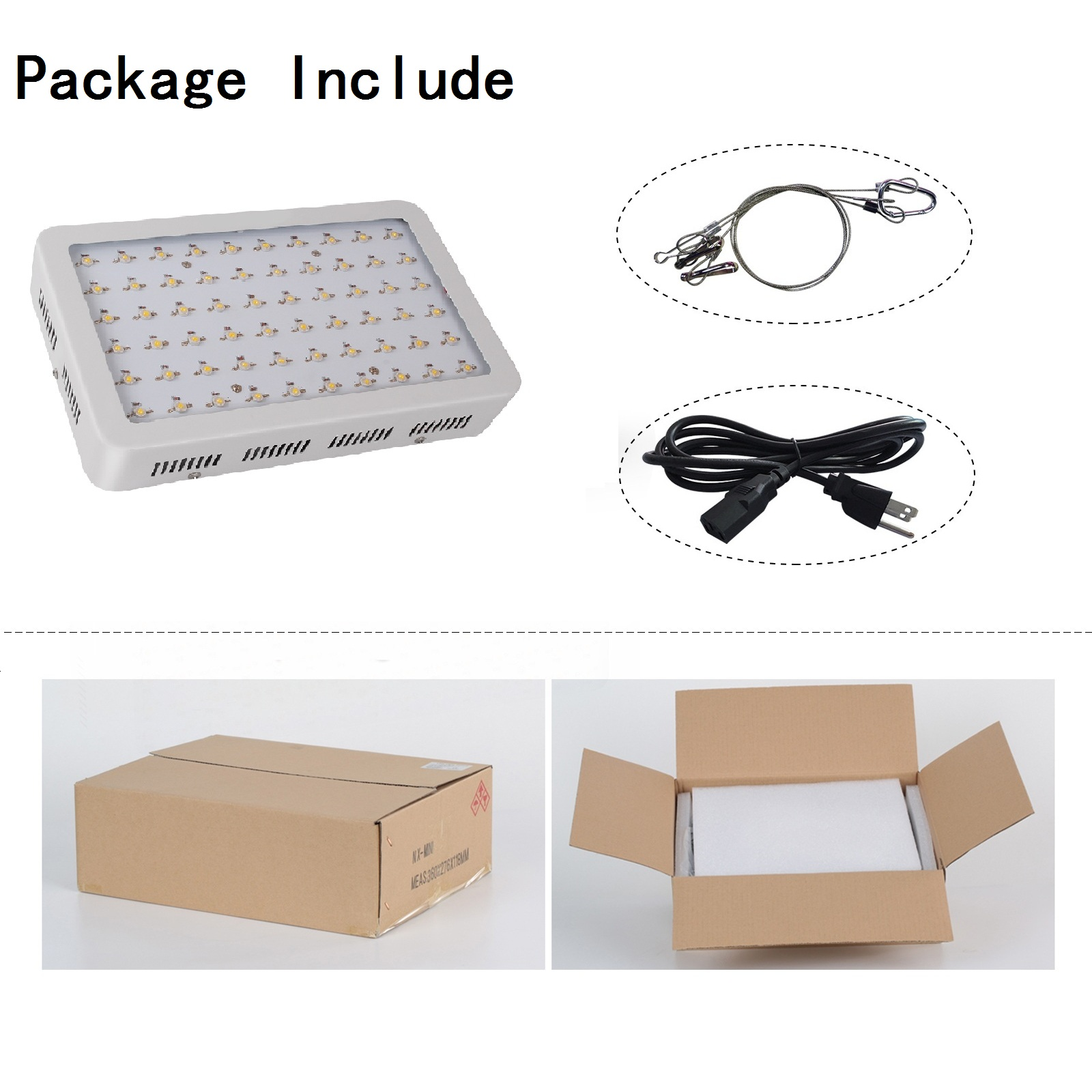 New Product Ideas 2019 Led Grow Light 300w For Hydroponics
