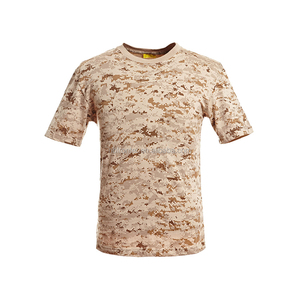 100% Cotton cool military t shirts outdoor training tactical shirts