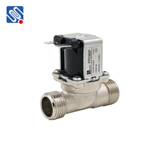 FPD360F copper material water machine G1/2 inlet and outlet brass electric water solenoid valve spring loaded