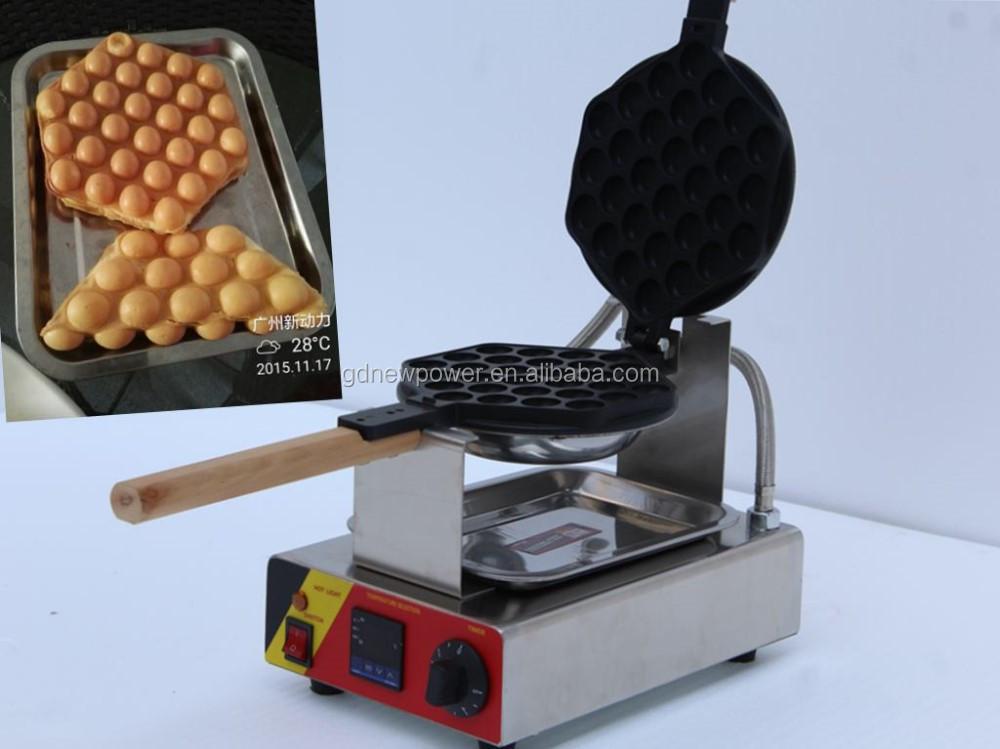 Huevo Waffle Maker En Máquinas Del Bocado/hong Kong Huevo Waffle ...