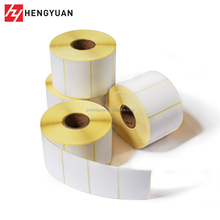 Blank Custom Printing Adhesive Sticker Barcode Label Paper Roll