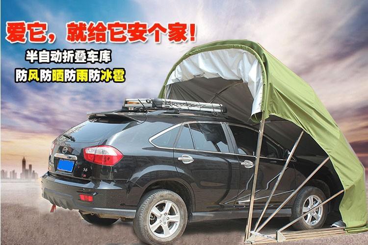 Sun Sail Collapsible Car Garage : Copertura auto visite turistiche portatile pieghevole