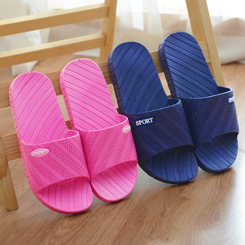 wholesale cheap adult size unisex comfort home bath sandals plastic slipper