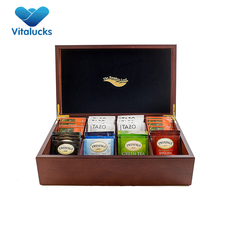 Super qualità di stile moderno di piccole dimensioni in legno scatola da tè