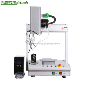 Four-axis single-head single-station with solder pen assembly automatic soldering robot kit for typewriter, toys