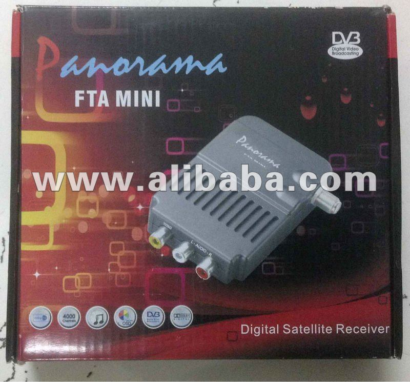 Panorama FTA mini av digital satellite receiver
