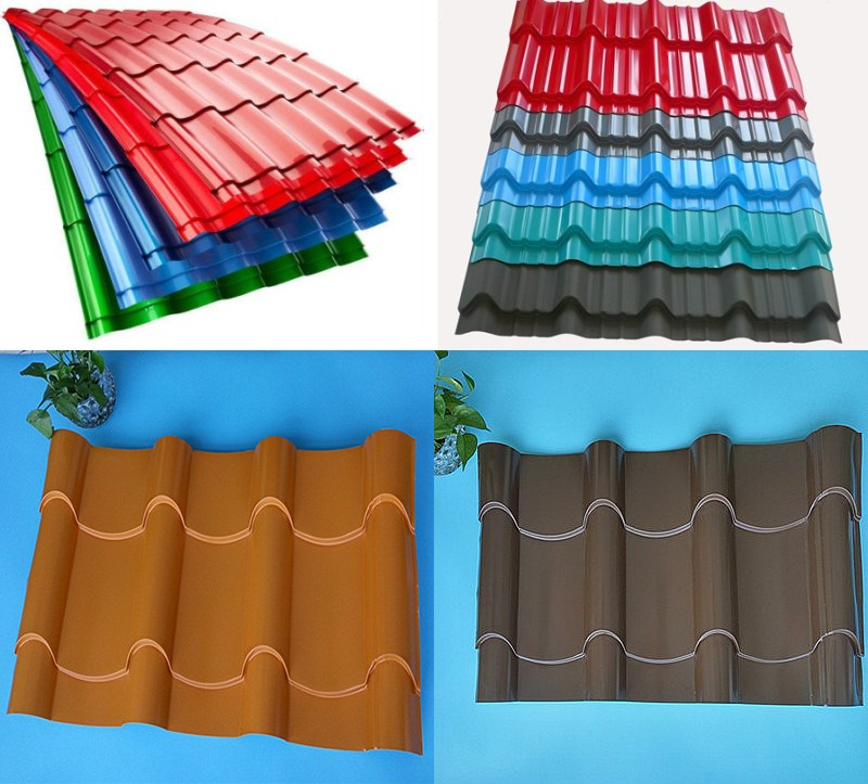 Building materials different types corrugated metal for Different roofing materials