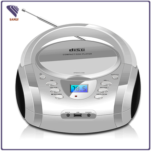 2018 Cheap Portable CD Boombox/Boombox CD player with MP3 and USB