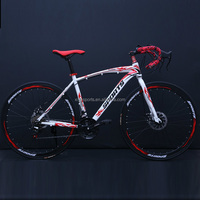 Wholesale Road Race Bike Bicycle 21 Speed Spokes Wheel 700cc Size