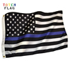 hotsale 3X5ft Totem Flag polyester America thin blue line flag