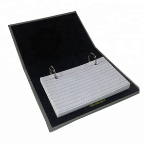 Index Card Holder 2 Ring Binder