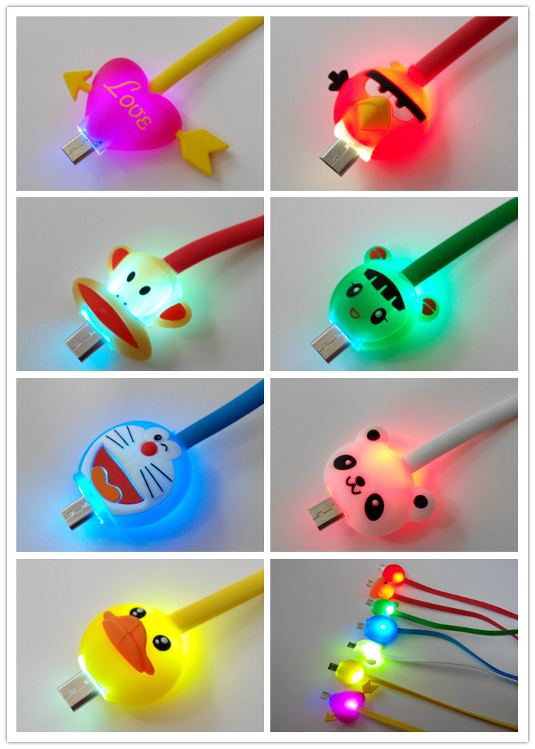 Light Up Usb Charging Charger Cable For Iphone 4/5/6