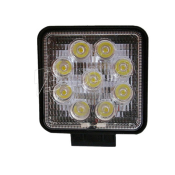 "China Supplier NEW Design 12V 24V 27 Watt LED Work Light 4.3"" Truck Tractor SUV 4WD Auto LED Work Lamp Car Front Light for Camry"