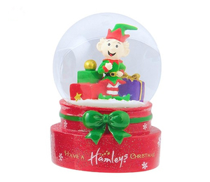 Polyresin Wholesale christmas nativity water globe
