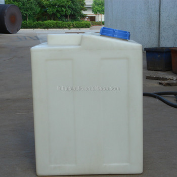 Kc200l Lldpe Small Square Plastic Food Grade Containerwater