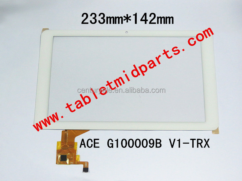 High Quality 9.0 inch white color Tablet MID Replacement Part-touch screen ACE G100009B V1
