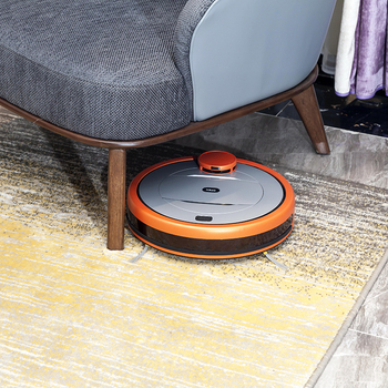 Real-time map navigation vacuum robot sweeper mop intelligent 2600mah auto cleaner for home