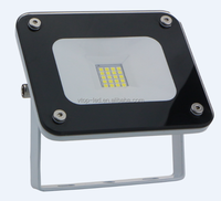 New launched slim flood light 20W high lumen 2050lm AC110-230V show in HK fair