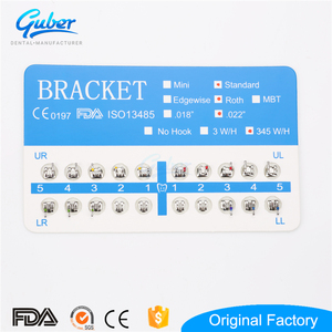 Dental medical material supply orthodontic bracket with CE ISO FDA