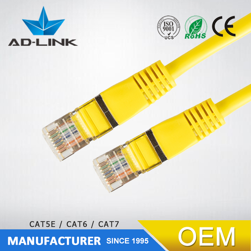 RJ45 cable blindado 1 m/2 m/3 m cable Ethernet UTP Patch Cord