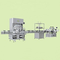 MZH-FA the newest automatic filling production line for shampoo filling and sealing