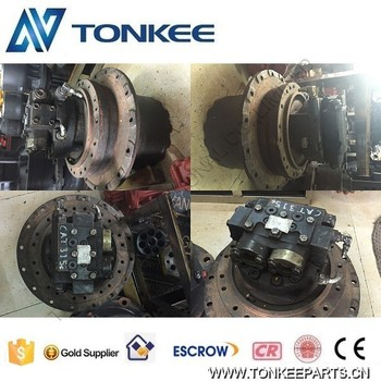 original used excavator 315C 315D travel motor group 185-6953 with gearbox 210-3529 final drive group 165-5777