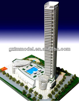 3d tower building architectural model builder professional model makers making customized 3d house model maker