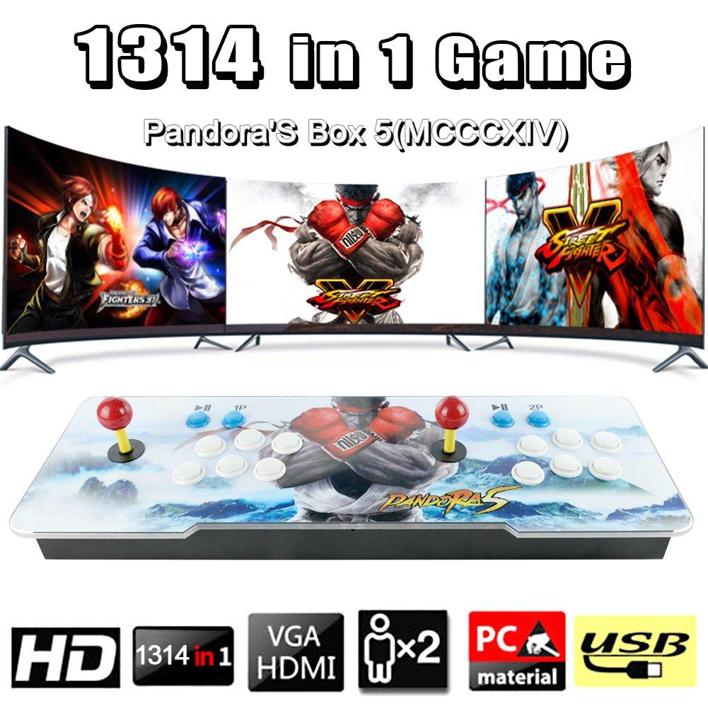 Buy Leermart 1314 Retro Games Pandoras Box MCCXX Colorful