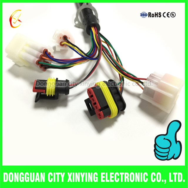 custom auto electrical wiring harness with 4_640x640xz auto electrical wiring harness connector oem cable source quality auto electrical wiring harness at alyssarenee.co