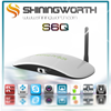 S6Q Amlogic S805 Android 5.1 Quad Core tv tuner boxes 1Gb/8GB KODI 15.2/XBMC 13.2 camera set top box android