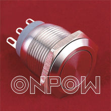 ONPOW push on micro switch(GQ19-11W series,CE,CCC,ROHS,IP67)