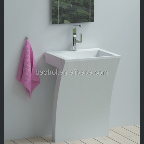Easy Cleaning Upright Wash Basin/salon Shop Wash Basin - Buy ...