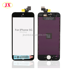 Good price original new lcd for iphone 5 mobile lcd broken cracked touch screen repair for iphone 5