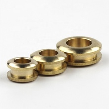 Meetee AP068 Pure Brass Bags Shoes DIY Accessories Button Metal Fittings Hollow Buckle Bags O Ring Eyelet