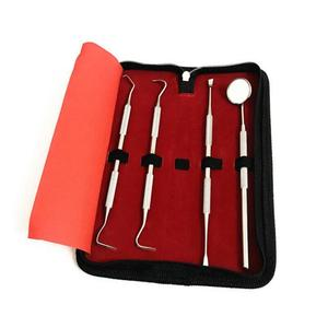 Stainless Steel Dental Probes Mirror Scraper Dentistry Oral Care Tools