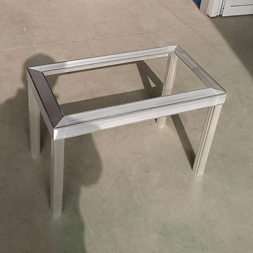 Custom Fabrication Aluminum Profile Nail Polish Display Floor ...