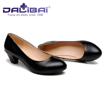 Women Low Heel Soft Leather Formal Dress Shoes For Office Lady Buy