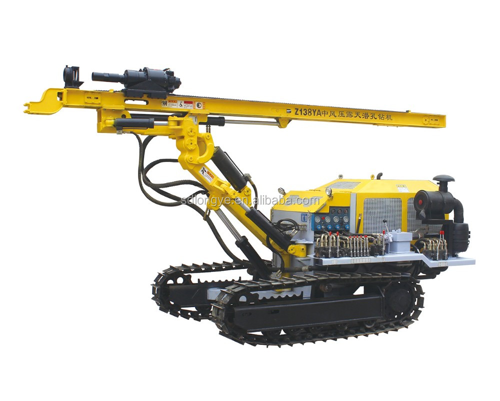 Durable Drilling Rig CTQ-Z138YA For Mining Usage ! China Top Brand !