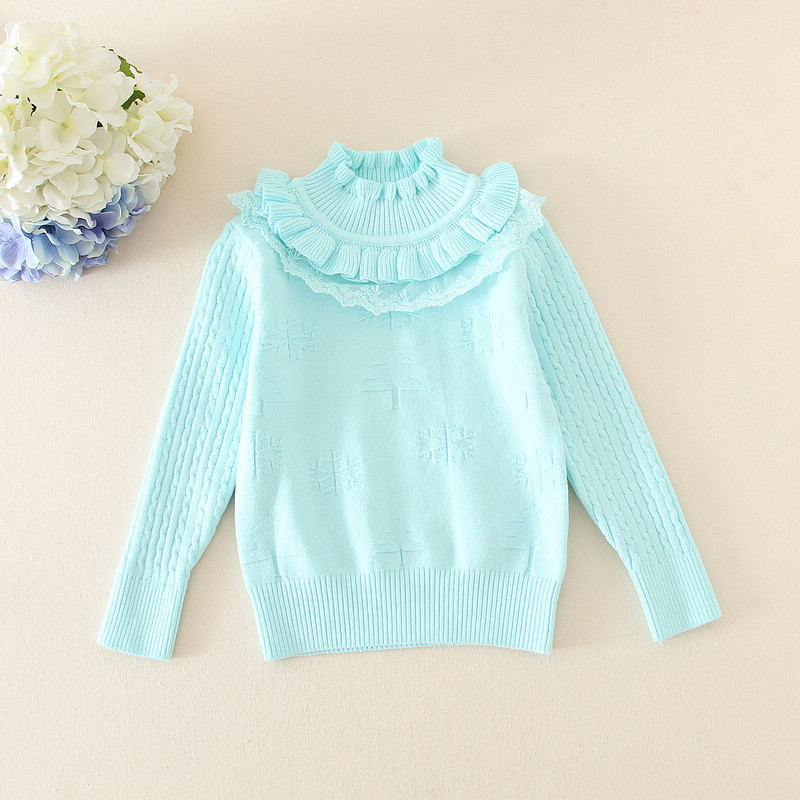 baby latest best sell sweater designs for girls fashion cloths wool handmade  sweater design for girl