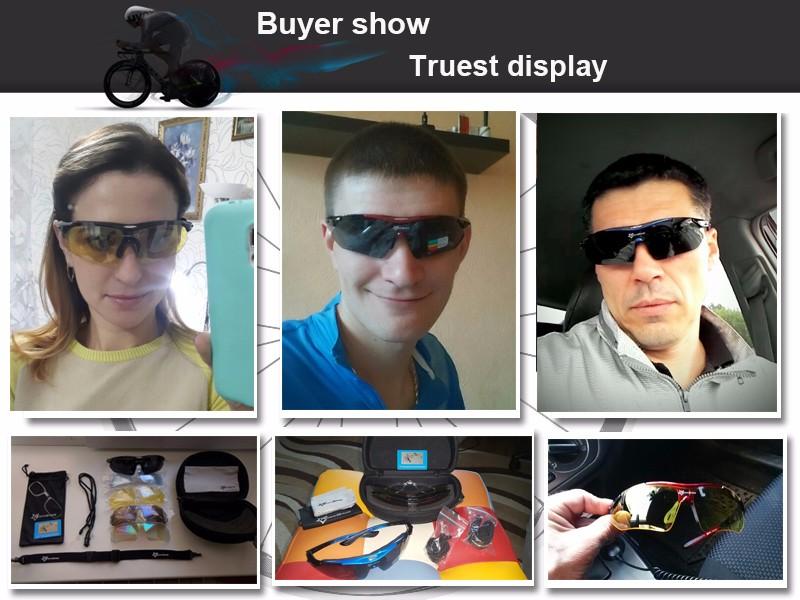 aaaa716309f ROCKBROS Pro Polarized Cycling Glasses Bike MTB Sports Sunglasses 5 ...