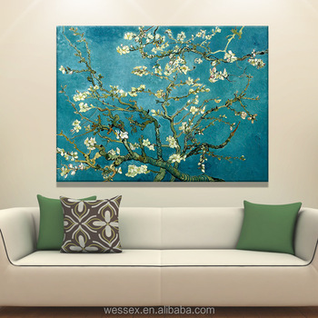 abstract oil painting on canvas for living room wall